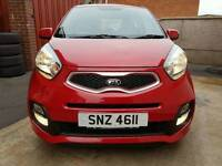 2013 Kia Picanto CITY 2 LADY OWNERS, FULL HISTORY, 3 YEARS WARRANTY LEFT