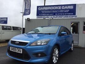 2009 09 FORD FOCUS ZETEC S 1.6 - 12 MONTHS MOT - SERVICED - WARRANTY - FULL SERVICE HISTORY .