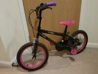 Tinkerbell BMX bike 6 -9 age with helmet in excellent condition!