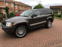 Jeep Grand Cherokee limited 3.0 CRD swap for a nice van