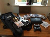 PS3 and guitar hero bundle