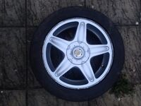 BMW Mini Cooper S One 16 inch R56 5 spoke alloy wheel with tyre 6769409