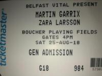 Martin Garrix ticket X2