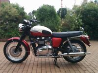 Triumph BONNEVILLE T 100 Reg Sept 2011 Excellent condition fitted with Datatool system 4 alarm.