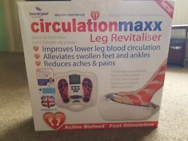** BRAND NEW** Circulation Maxx leg revitaliser