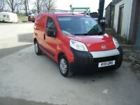 2011 FIAT FIORINO 1.3 DIESEL VAN LONG MOT SMOOTH RUNNER NO OFFERS