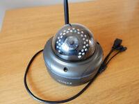 1080P Full HD (2MP) Wireless IP CCTV Dome Camera Dark Grey IP66 Outdoor 25m Nightvision Onvif 2.0