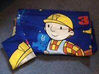 Duvet Cover & Pillowcase Single Bob The Builder