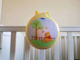 Musical and light up cot toy