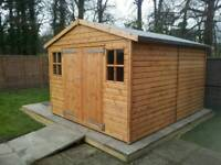 10ft/12ft professional workshop/garage timber shed