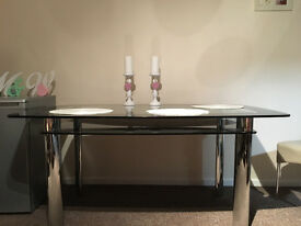 FORS SALE GLASS TABLE