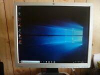 "HP Windows 10 Desktop PC & 19"" Flat Screen Monitor"