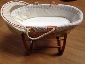 Mamas and papas 'jamboree' Moses basket