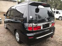 2003 TOYOTA ALPHARD 2.4 PETROL 4 BERTH POP TOP CAMPERVAN NEW Slimline SIDE CONVERSION 2WD 5 Seater