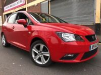Seat Ibiza 2014 1.4 16v Toca 5 door 1 OWNER, 6 MONTHS WARRANTY, LOW MILES, NE...