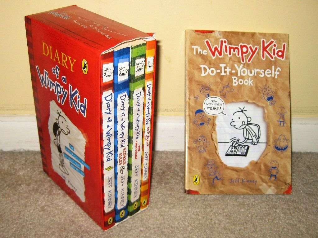 5 diary of a wimpy kid box set books 1 4 extended version of the 5 diary of a wimpy kid box set books 1 4 extended solutioingenieria Images