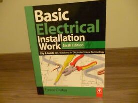 REDUCED ANY OFFER Electrical install/guide books city and guilds texts x 2