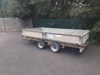 Ifor twin wheeled trailer for sale used as plant trailor? No longer needed £600