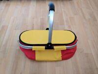 Picnic basket/carrier bag for sale