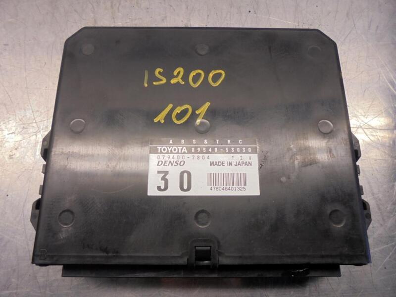 Lexus IS200 2.0 Petrol ABS TRC Control Module ECU 89540-53030 079400-7804