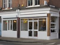 Cafe Business to Rent in Bethnal with Fixtures and fittings