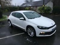 VOLKSWAGEN SCIROCCO DIESEL COUPE 2.0 TDI GT 3DR FULL DEALER HISTORY ONE OWNER SUPERB IN & OUT