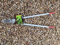 Wilkinson Sword Long Handled Lawn Shears Grass Cutting Garden