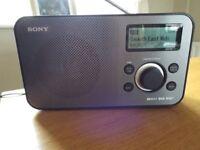 SONY XDR- S60DBP DAB RADIO