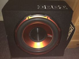 Edge subwoofer and amp