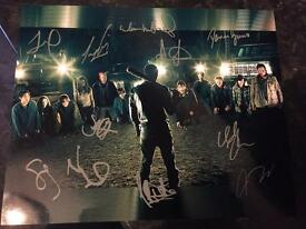 Walking dead signed picture