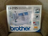 Sewing Machine Brother LS-2125 Brand New Boxed