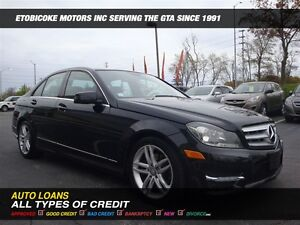2013 Mercedes-Benz C-Class C250 / LEATHER / SUNROOF