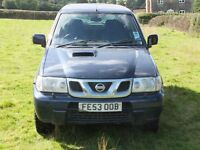 Nissan Terrano II 3.0L Diesel, Spares or Repair. MOT Failure Due To Chassis Corrosion, Good Engine.