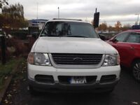 Ford Explorer 1 Owner LHD (LEFT HAND DRIVE) Reduced for quick sale