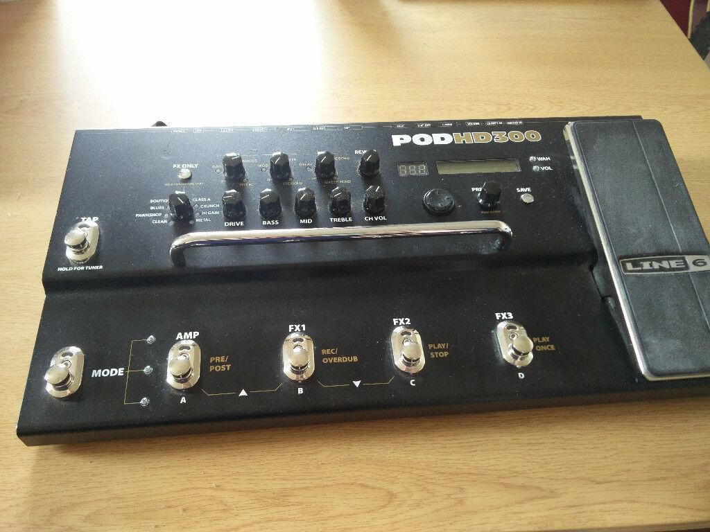 Line 6 Pod HD300 Guitar Effects Pedal