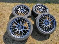 17 inch multi stud alloy wheels