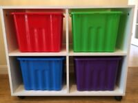 Kids Homebase storage unit - GOOD CONDITION