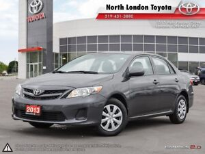 2013 Toyota Corolla CE One Owner