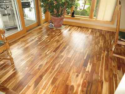 Prefinished Stalwart Blonde Asian Walnut Acacia Wood Hardwood Floor Flooring Sample