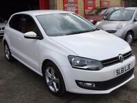 Volkswagen Polo 1.2 TDI Match 5dr - Diesel - Low Mileage - Full Service History - FREE INSURANCE