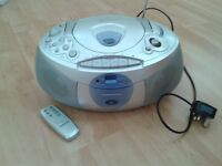 Tamashi CD player, stereo radio and cassette player
