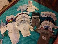 Baby clothes bundle 0-3