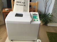 Bread Maker Team International. As New, with instructions and recipe book.