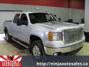 2014 GMC SIERRA 2500HD SLT Crew Heated Leather Tow Package