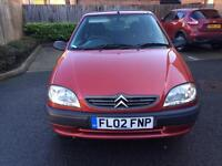 Citroen saxo 1.1 petrol one year mot FSH CAMBELT changed @ 65k