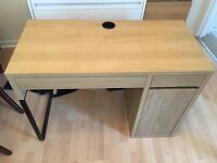 IKEA desk and chair (top shelving boxed)