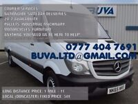 NATIONWIDE SAME DAY COURIER SERVICES DELIVERY TRANSPORTATION REMOVALS FREIGHT CARGO MAN WITH VAN