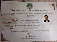 Full body massage Thai message at your home comfort certified from Thai land