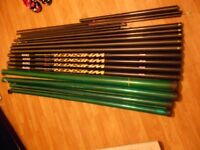 QUALITY USED MATCH FISHING POLES
