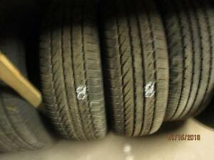 215/60R17 2 ONLY USED GENERAL ALL SEASON TIRES